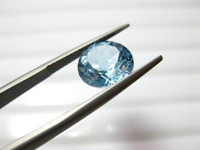 【Texture & Nobleness 低調與奢華】天然寶石 瑞士藍托帕石 5克拉