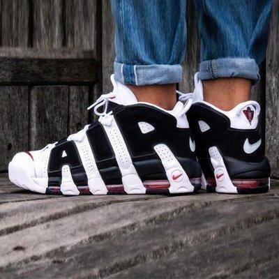 現貨 - Nike Air More Uptempo 96 大AIR 白黑色 熊貓 415082-105