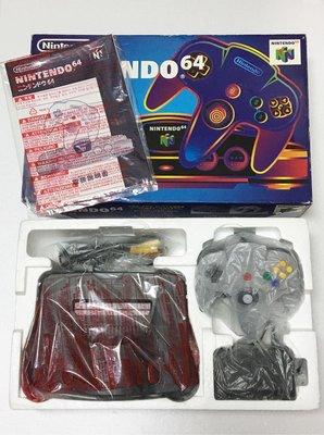 【任天堂 Nintendo 64】 N64 主機 近新美品 出售