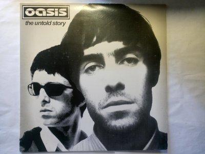 英倫搖滾勢力 OASIS 綠洲樂團 The Untold Story黑膠唱片 5首歌的 Demo和Live版 1992