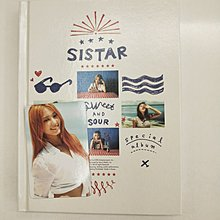 SISTAR SWEET & SOUR 韓國進口特別版全專