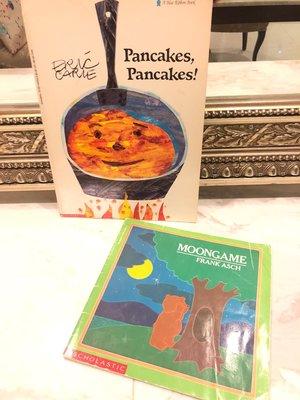 Pancakes+ Moongame 英文繪本/英文童書