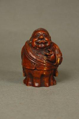 悅年堂 --- 竹 雕 財主