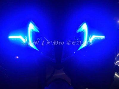 【LFM】凌雲之翼 翼型 序列式 LED方向燈 L22 流水 導光 DRG FORCE SMAX BWS DRG158