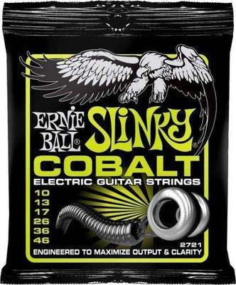 傑禾樂器 ~ Ernie Ball COBALT Strings 2721 /10-46 電吉他弦/套弦(美製鈷弦) ~
