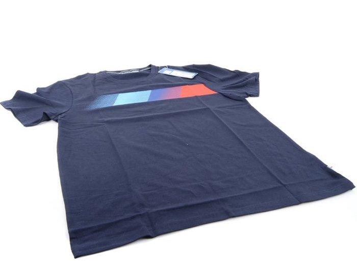 【樂駒】 BMW Motorsport 原廠 生活 精品 深藍色 短袖 T-Shirt LOGO 透氣 男士