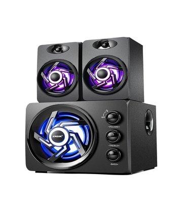『開立發票』賽達D209 3D環繞木質2.1聲道音箱 高低可調節 電腦喇叭 重低音音箱 重低音喇叭 手機喇叭 筆電音箱