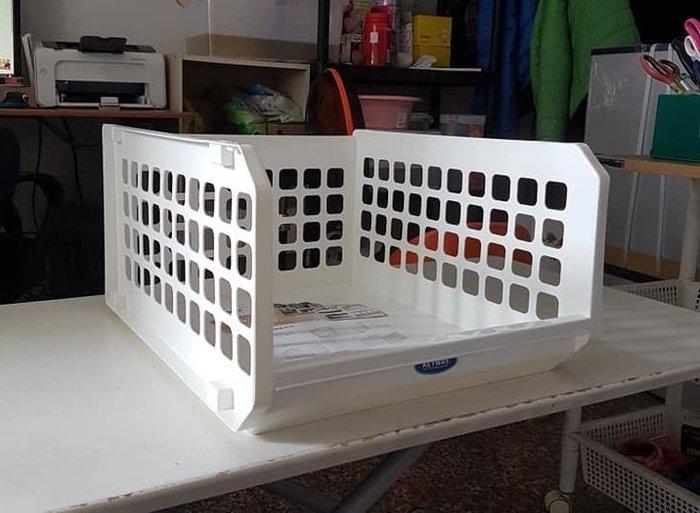 小毛收納館『KEYWAY P50086開放式整理架XXL』含稅開發票 聯府 收納籃 置物籃 衣物籃 賣場整理籃
