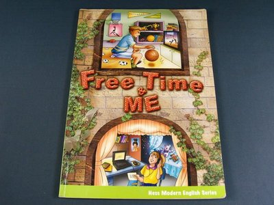 【懶得出門二手書】《Free&Time ME》│何嘉仁出版│David Moss│八成新(32Z11)