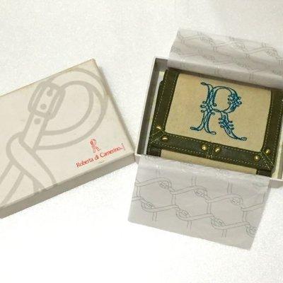 ⓜⓐⓘ ⓜⓐⓘ 桑---Roberta di camerino 義大利品牌 短夾