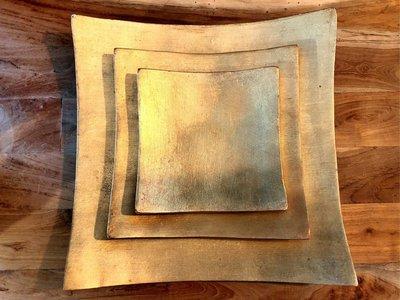 Gold Plate Set-金色盤/組