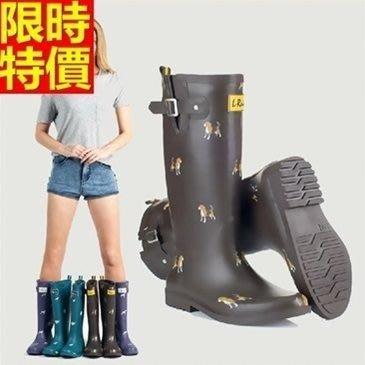 長筒雨靴子 雨具-春夏新款小動物熱銷女雨鞋子66ak14[獨家進口][米蘭精品]