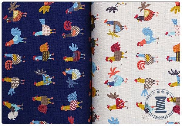 ✿小布物曲✿小動物系列 純棉印花布 窄幅110CM 日本國進口布料質感優 共4色 單價