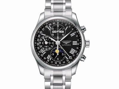 【JDPS 久大御典品 / 名錶專賣】LONGINES 浪琴錶 巨擘系列 不銹鋼 多功能自動錶 附盒證 編號J34901