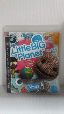 SONY Play Station PS3原廠正版遊戲光碟遊戲片BCAS 20058 小小大星球 中英合版近全新現貨。賠售出清