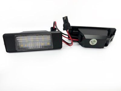 LED License Plate 牌照燈 車牌燈 For 07-17 QASHQAI X-TRAIL MARCH