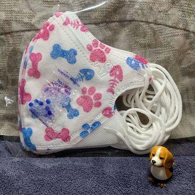 現貨🌈淨新🌈兒童鼻樑壓條3D立體口罩(10入)