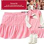GYMBOREE粉紅色菱形壓紋細絨布褲裙 3.4.5.7.8.9.10yrs! **JBS SHOP*