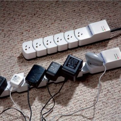 NEW!!※台北快貨※美國原裝Socket Sense伸縮式延長線+1080焦耳突波保護器(也有Quirky Pivot Power)