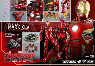 Hottoys ironman mark XLV iron man mark 45 hot toys