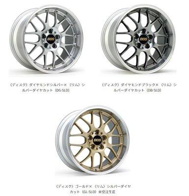DJD19071808 日本BBS RS-GT 17-20吋 鍛造2片式鋁圈 依當月報價為準