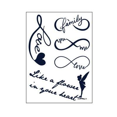 【萌古屋】無限符號 - 半永久果汁紋身微刺青14天擦不掉紋身刺青XLM-029 K61