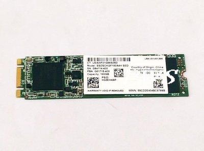 ☆【INTEL SSDSCKGF180A4H  固態硬碟 NGFF M.2 180G 180GB 2280】☆