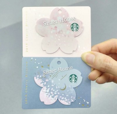 Starbucks Korea 2019 Cherry Blossom Card 星巴克韓國櫻花卡