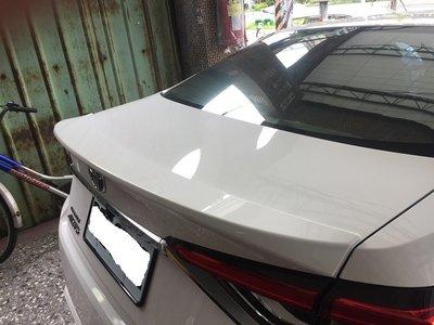 (柚子車舖) 豐田 2019 ALTIS 12代 原廠樣式 擾流板 報價含烤漆 尾翼 鴨尾 a