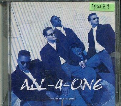 *還有唱片行* ALL 4 ONE / AND THE MUSIC SPEAKS 二手 Y2139