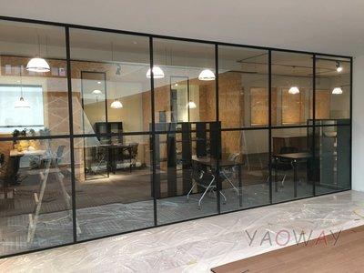【耀偉】鋁框高隔間 (辦公桌/辦公屏風-規劃施工-拆組搬遷工程-組合隔間-水電網路)13