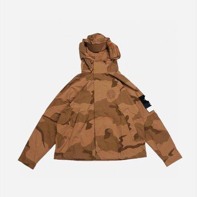Supreme x Stone Island石頭島聯名迷彩工裝衝鋒衣外套