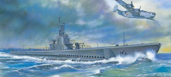 AFV CLUB 戰鷹 1/350 美國海軍 GATO 1943 潛水艦  SE73511