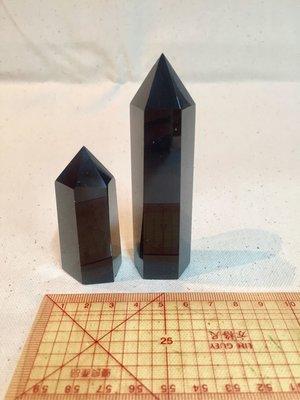 黑曜岩晶柱x2-避邪擋煞