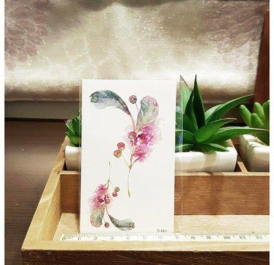 【萌古屋】Y系列枝葉果實 - 男女防水紋身貼紙刺青貼紙K13