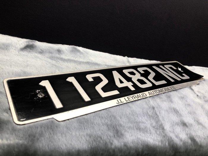 法屬大洋洲群島 New Caledonia 中古車牌 法國大牌 正品 112482 NC