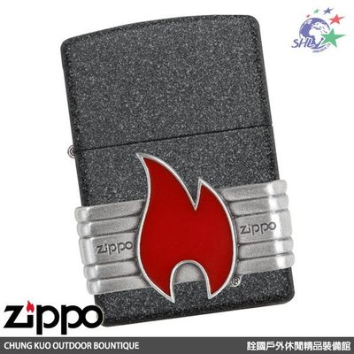 詮國 ZIPPO (ZP623) Red Vintage Wrap 復古版打火機 - 29663