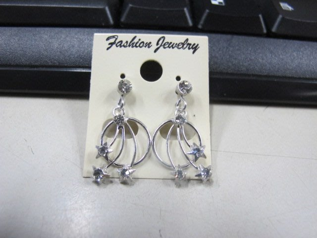二手舖 NO.4470 時尚造型耳環 耳針 耳鉤 便宜賣 首飾飾品