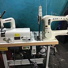 工業車縫紉機、一台二機用 削皮機+精工 本車改造可車皮革、粗線、臘線、 適合皮包丶手工精品' 可一針一針龜速車 給初學者馬上會使用