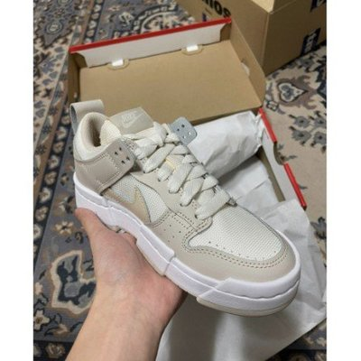 Nike Dunk 低筒鞋 Disrupt Desert Sand CK6654- 103 淡粉白