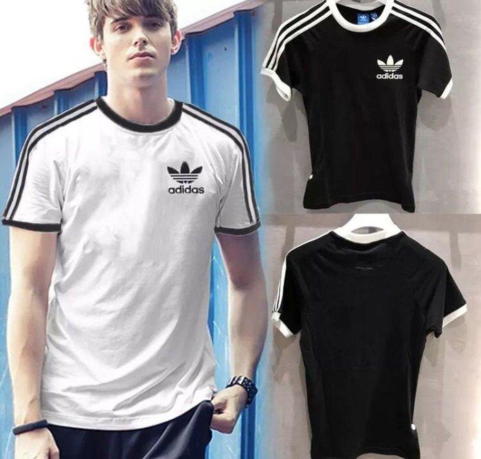 特價出清 Adidas 經典爆款 三葉草 T恤 短袖衣服 寬鬆短袖 透氣舒適短袖T恤 AZ8128