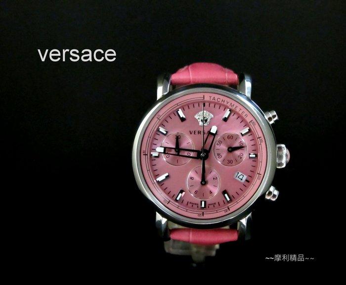 【摩利精品】Versace 凡賽斯計時錶   *真品* 低價出售