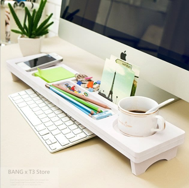 BANG◎辦公電腦桌鍵盤架 鍵盤架 收納 辦公必備 鍵盤收納架 電腦架 電腦桌收納盒 收納必備【STHF02】