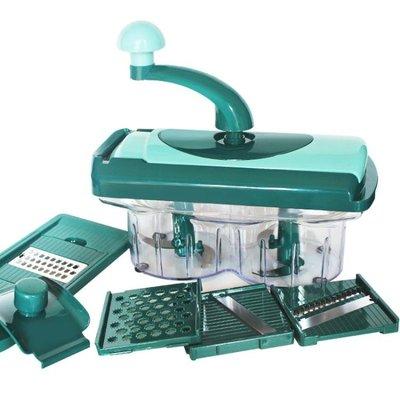 廚房絞菜機餃子餡碎菜機多功能攪拌機手動切菜器家用絞肉機絞餡機yi   全館免運