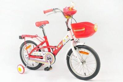 2014新版Hello Kitty16吋高把聲光音樂兒童腳踏車