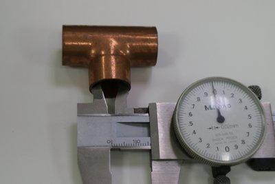 銅管接頭 同徑三通 內徑15.8mm 新竹市