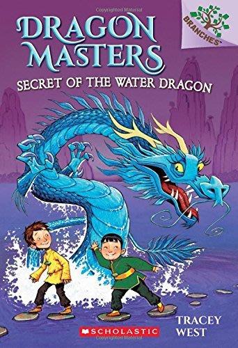 *小貝比的家*DRAGON MASTERS #3 SECRET OF THE WATER DRAGON /平裝書+CD