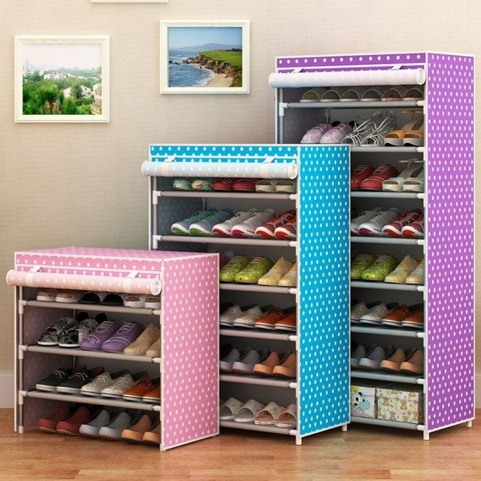 鞋架 簡易鞋架鞋櫃家用組裝鞋櫃簡約現代經濟型宿舍收納防塵多層鞋架子