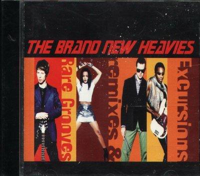 八八 - Brand New Heavies - Excursions: Remixes & Rare Groov CD
