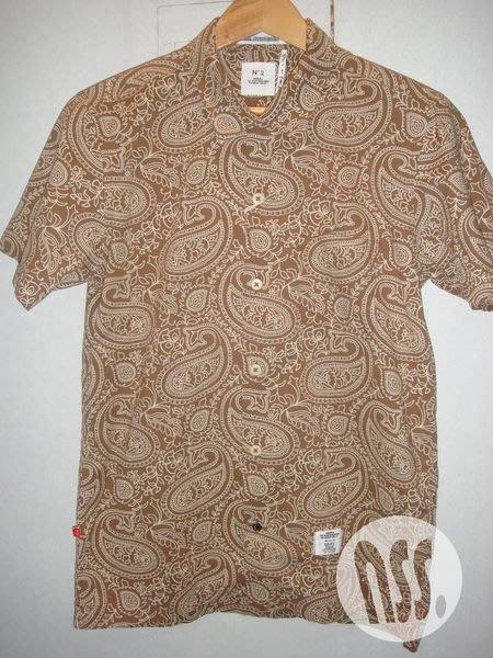 特價「NSS』BEDWIN & THE HEARTBREAKERS Open Collar OG Paisley Shirts Rogers 短袖襯衫 M